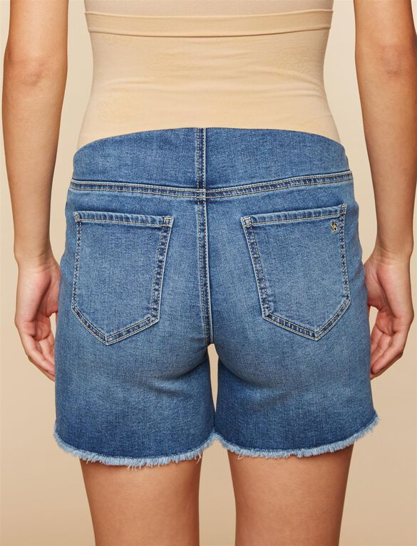 Jessica Simpson Secret Fit Belly Maternity Shorts, MEDIUM WASH