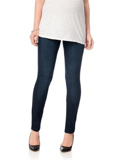 Secret Fit Belly Tall Stretch Skinny Maternity Jeans, Rinse Wash