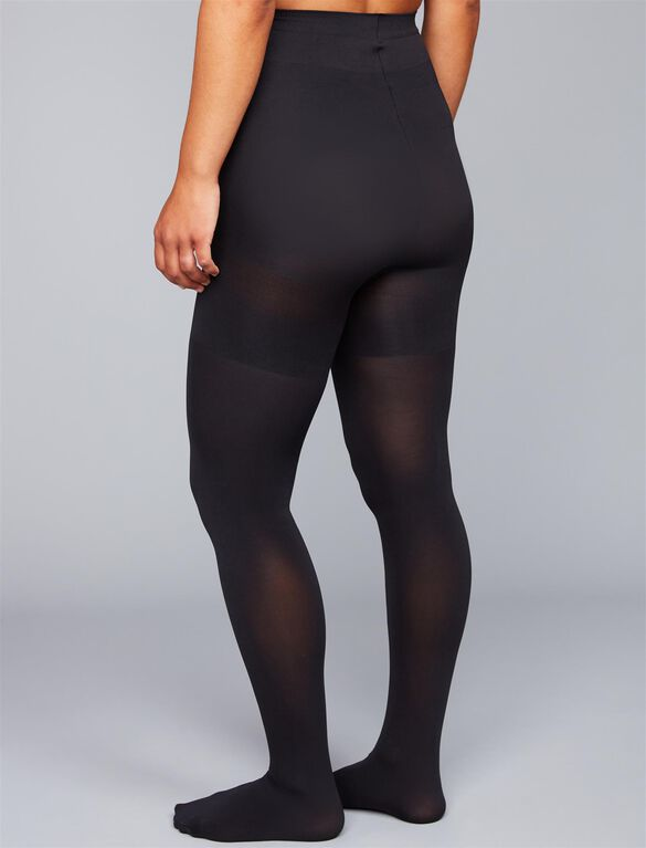 Spanx Mama Opaque Maternity Tights, Black Opaque