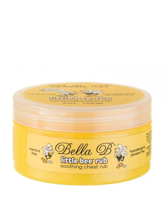 Bella B Little Bee Rub Decongesting Chest Rub, Chest Rub