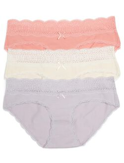 Maternity Hipster Panties (3 Pack), Solid Multipack