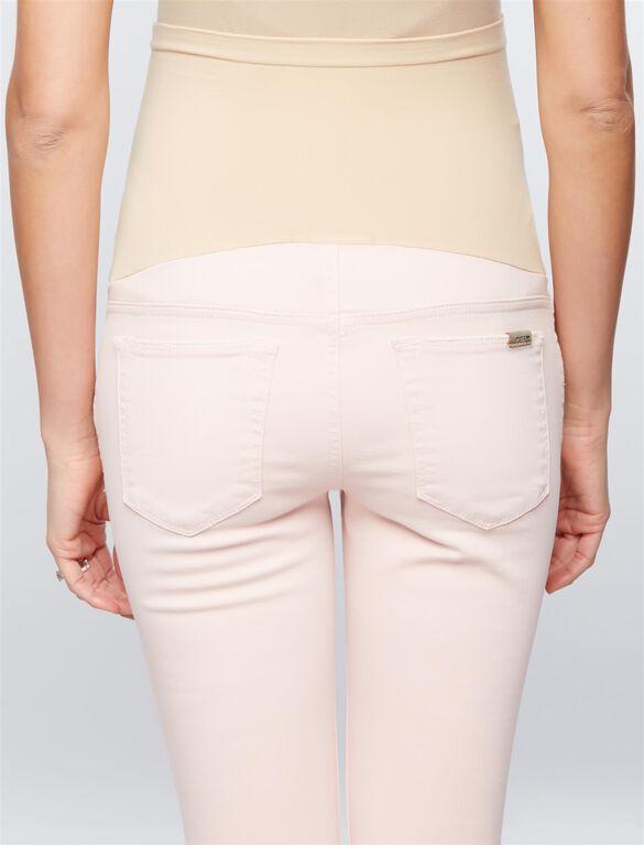 Joe's Jeans Secret Fit Belly Skinny Ankle Maternity Jeans, Pink