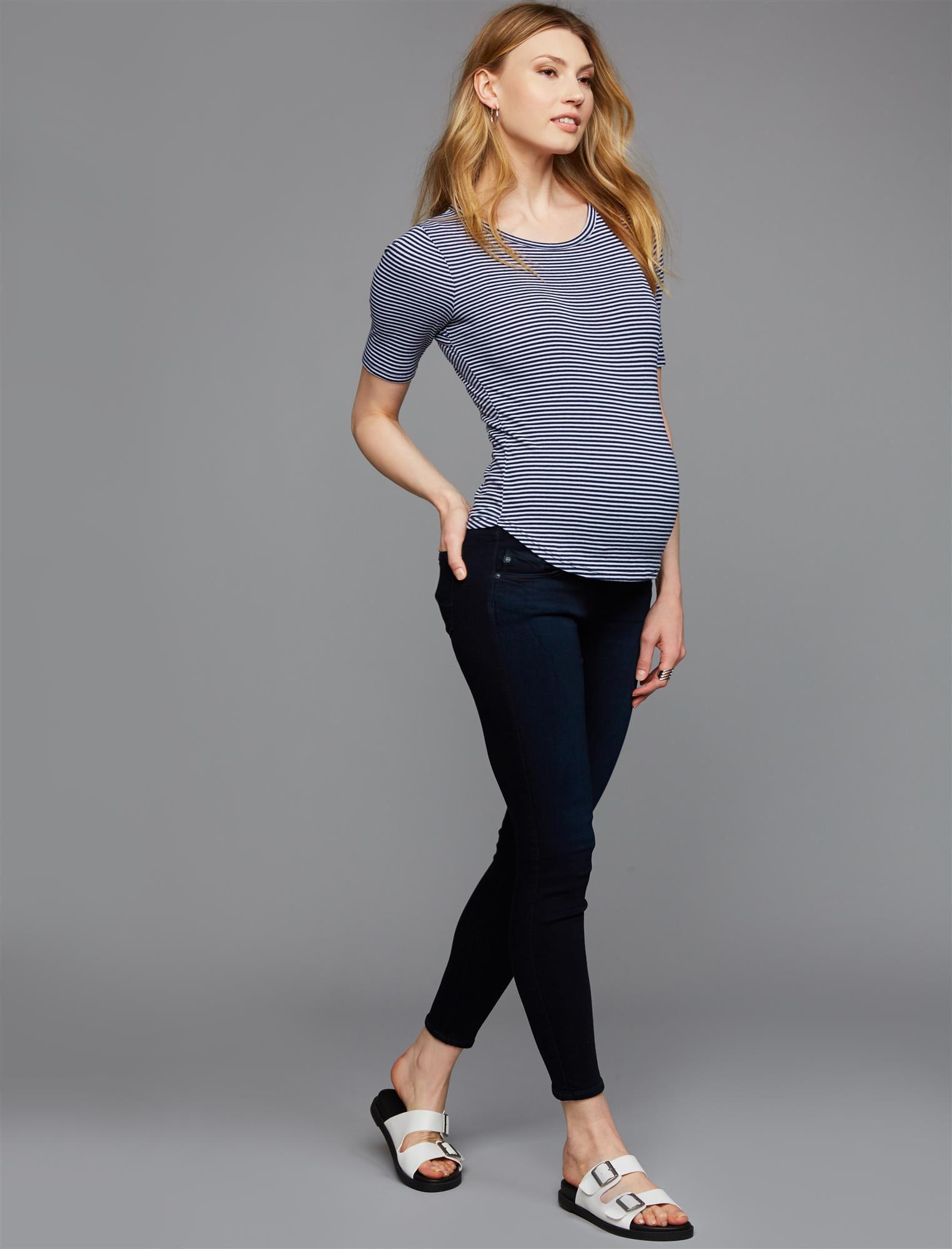 AG Secret Fit Belly Legging Ankle Maternity Jeans- Chromis
