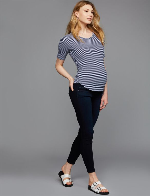 AG Jeans Secret Fit Belly Legging Ankle Maternity Jeans- Chromis, Chromis