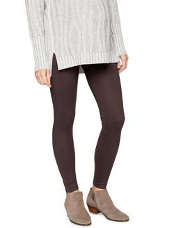 David Lerner Secret Fit Belly Modal Maternity Leggings, Merlot