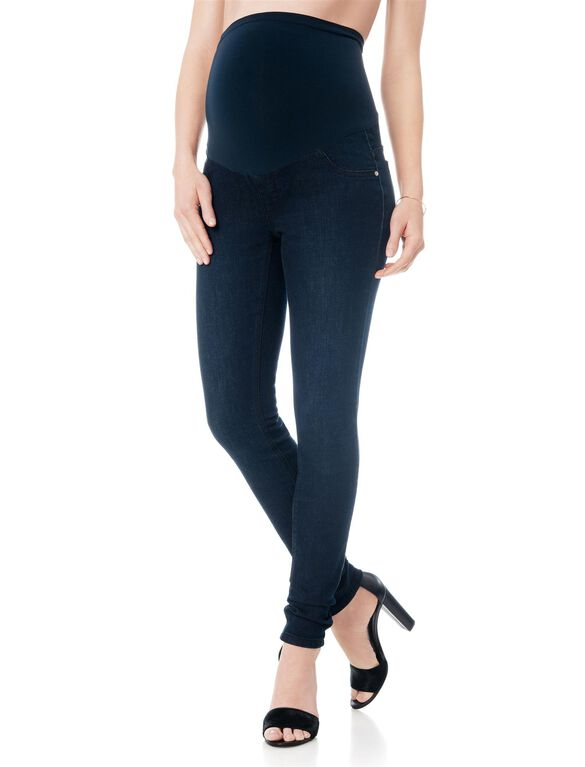 Plus Size Petite Secret Fit Belly Bi-stretch Suiting Boot Cut Maternity Pants.