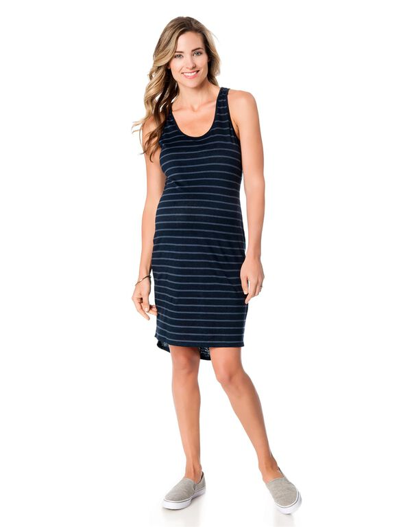 Vince Maternity Tank Dress, French Blue