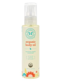 The Honest Company Organic Body Oil, None