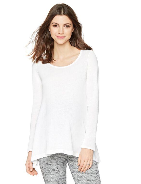 Splendid Maternity T Shirt, White