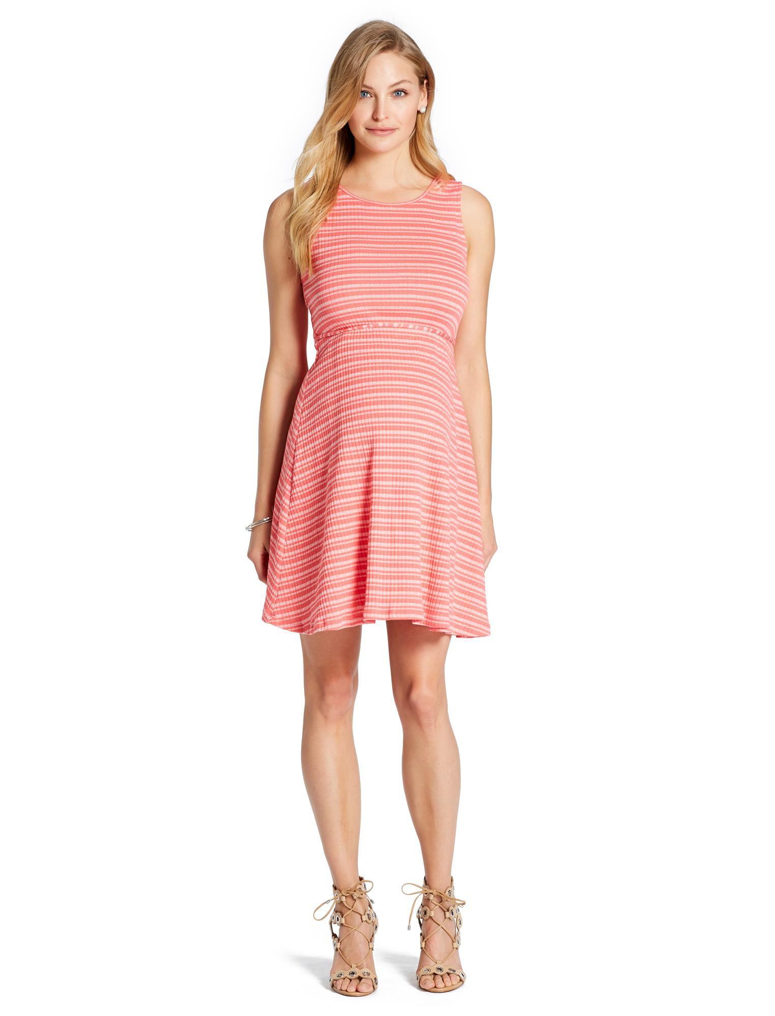Jessica Simpson Rib Knit Maternity Dress