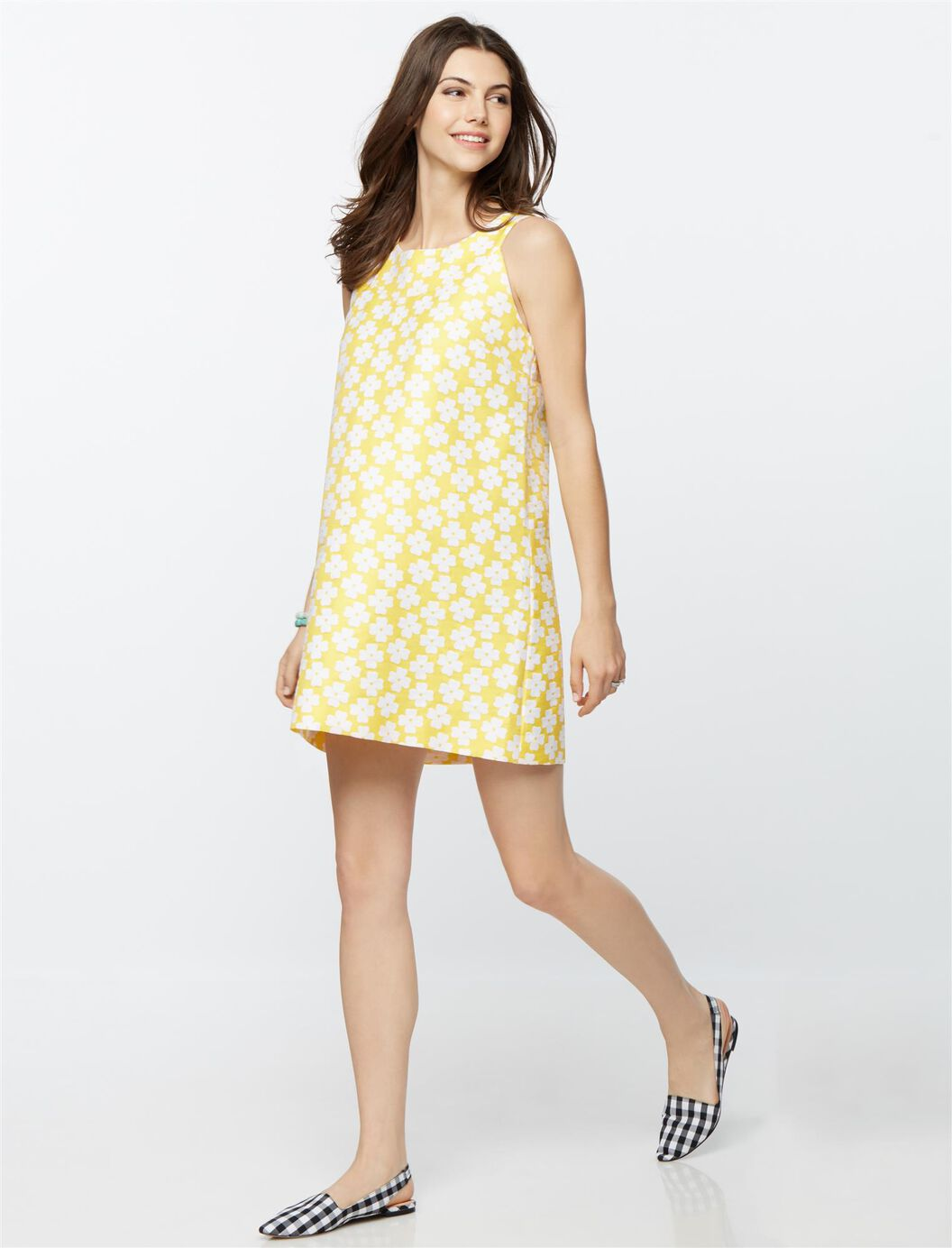 Madderson london web only daisy print maternity dress a pea in madderson london web only daisy print maternity dress yellow daisy print ombrellifo Image collections