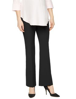 Secret Fit Belly Trouser Maternity Pants, Black
