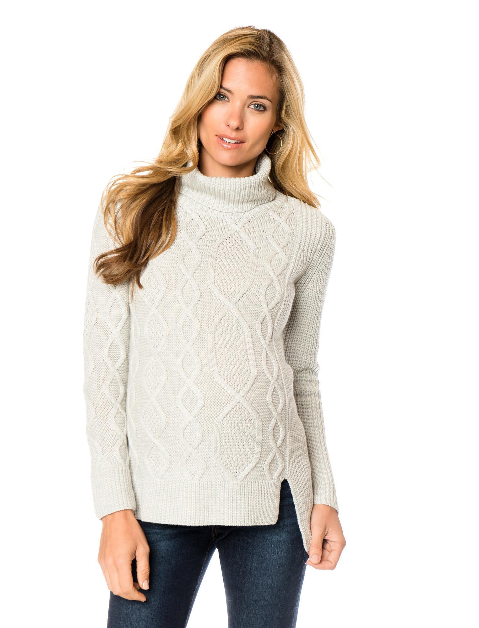 Rib Knit Maternity Sweater
