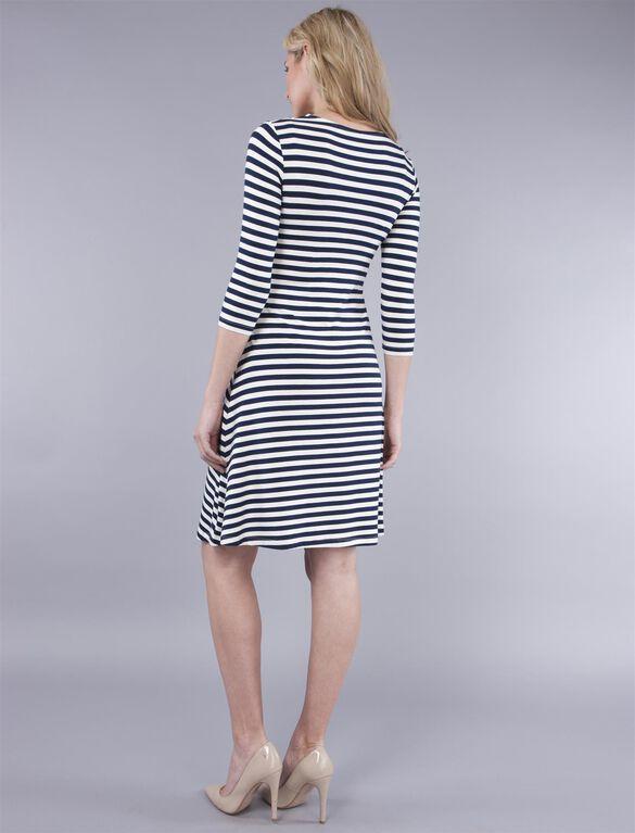 Seraphine Nadia Nursing Dress, Stripe