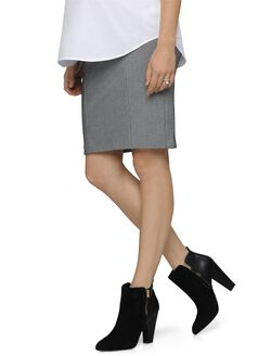 Secret Fit Belly Pencil Fit Maternity Skirt, Texture