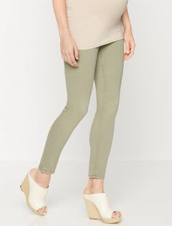 Ag Jeans Secret Fit Belly Maternity Pants, Olive