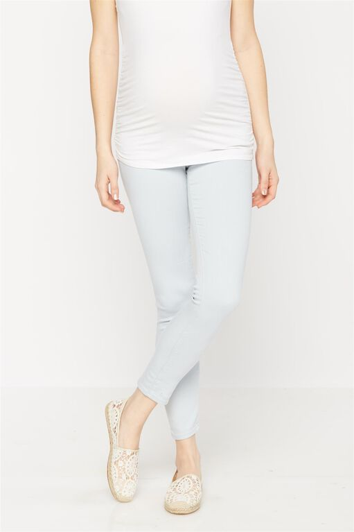 AG Jeans Secret Fit Belly The Legging Ankle Maternity Jeans, Light Blue