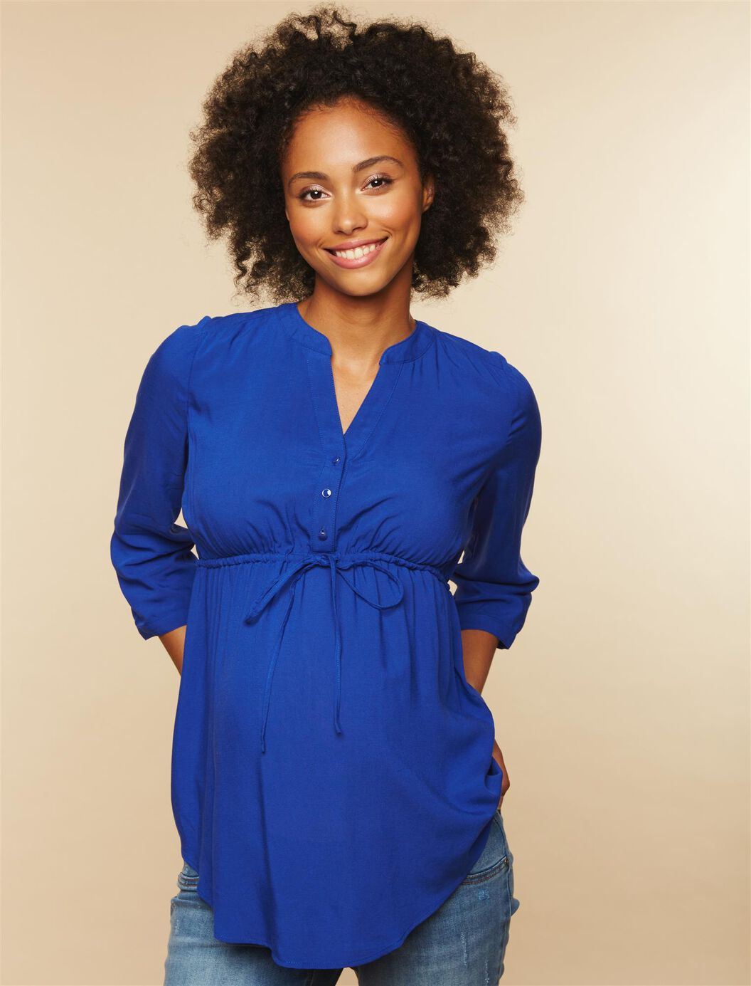 Belted Maternity Top at Motherhood Maternity in Victor, NY   Tuggl