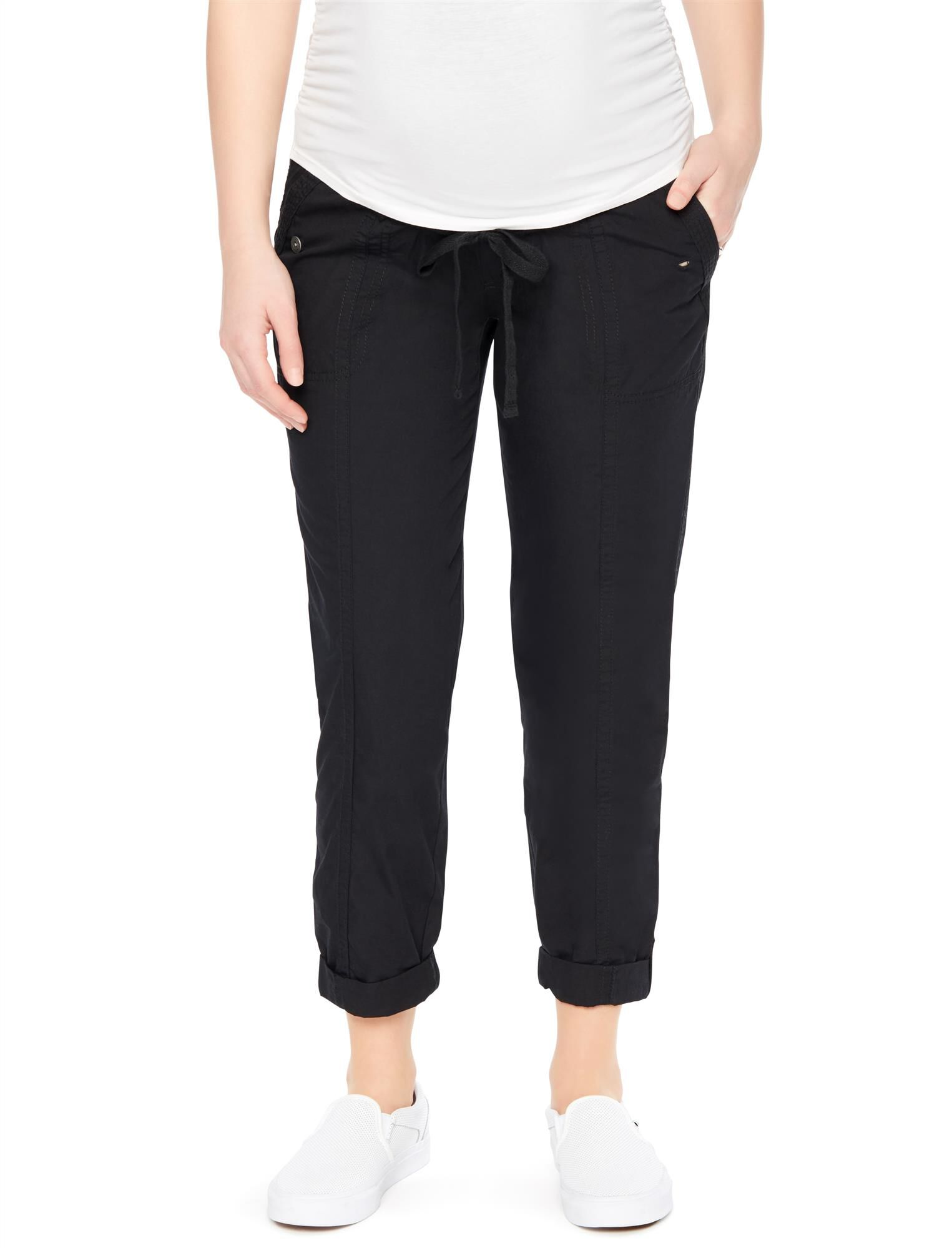Secret Fit Belly Cargo Straight Maternity Pants
