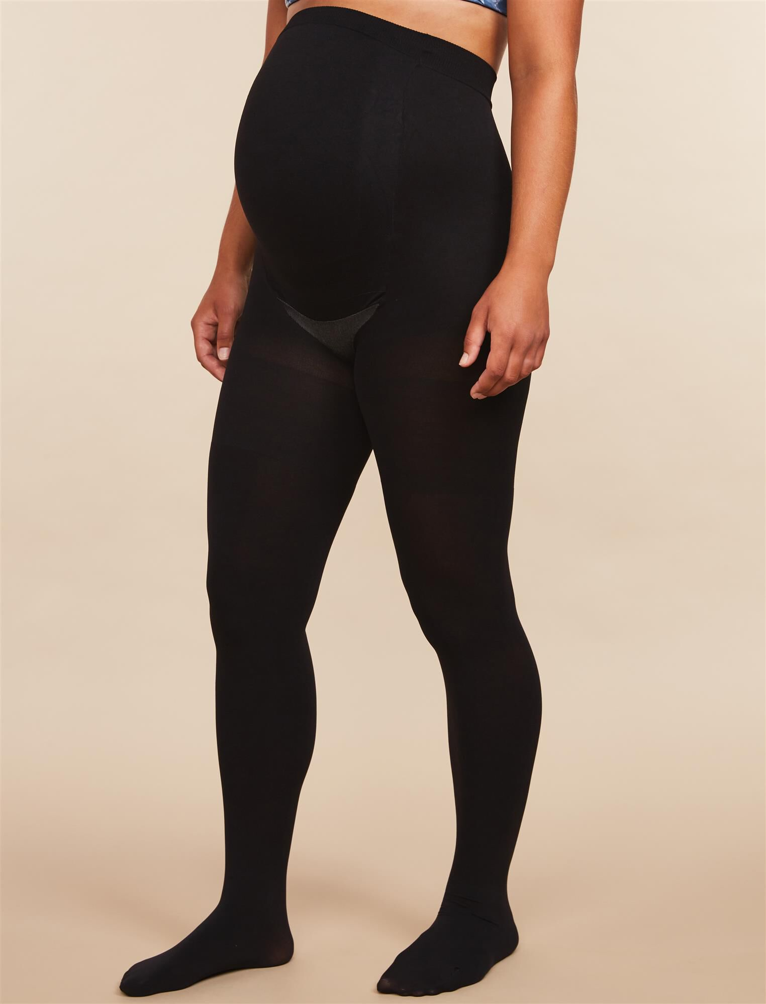 Assets By Sara Blakely Opaque Maternity Tights