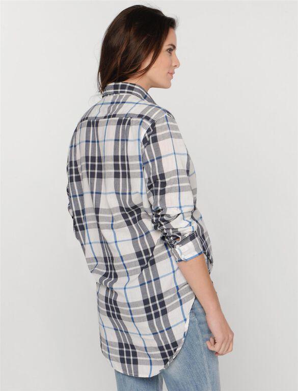 Maternity Shirt, Natural