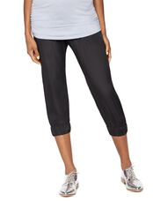 Secret Fit Belly Rayon Maternity Jogger Pant, Black
