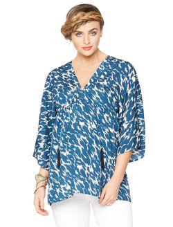 Rachel Zoe Super Soft Maternity Blouse, Multi Print