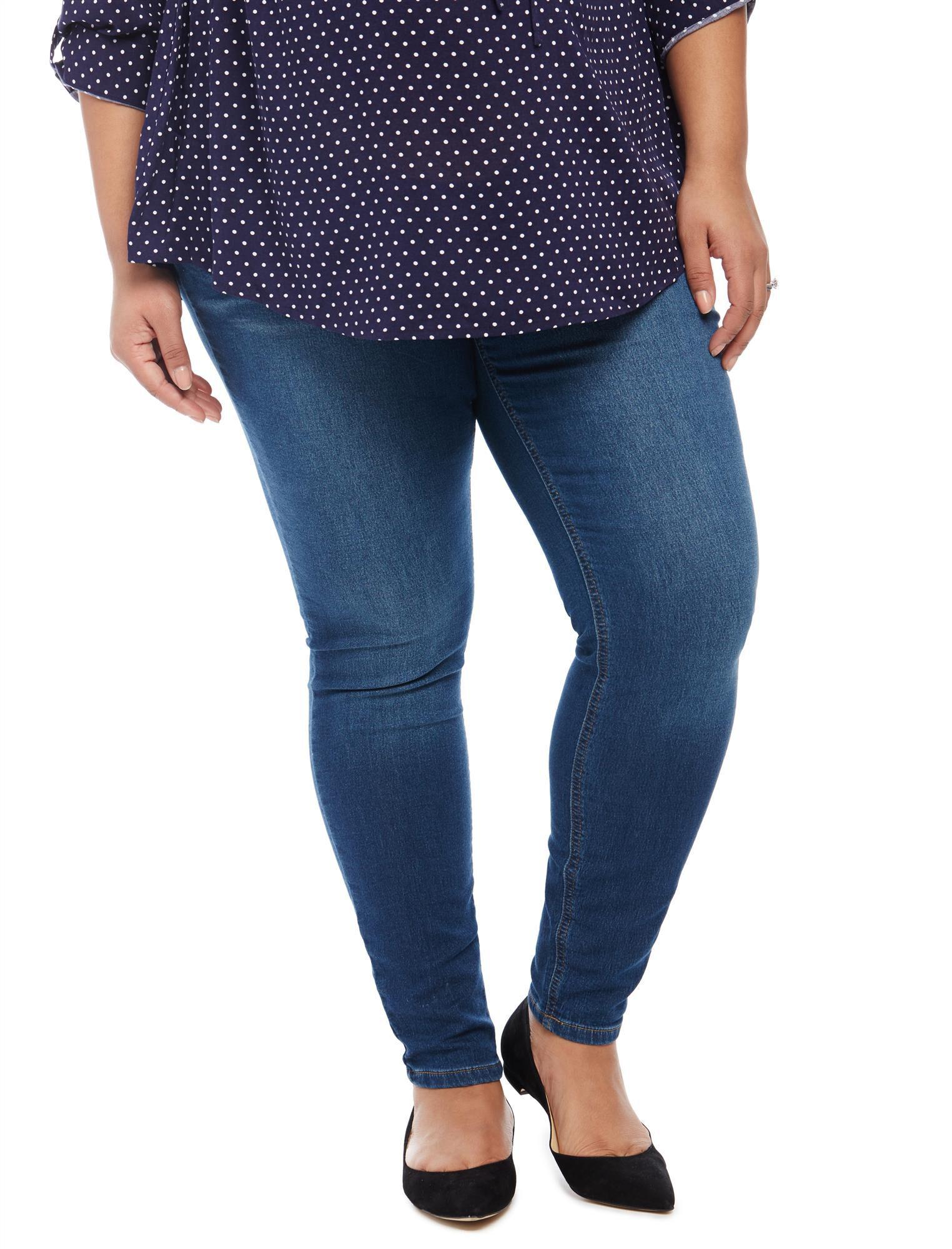 Plus Size Secret Fit Belly Jegging Maternity Jeans