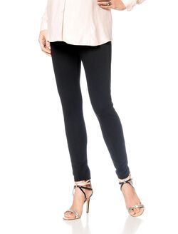 Isabella Oliver Secret Fit Belly Trouser Maternity Leggings, Black