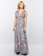 Rachel Pally Caftan Maternity Maxi Dress, Island Flower Print