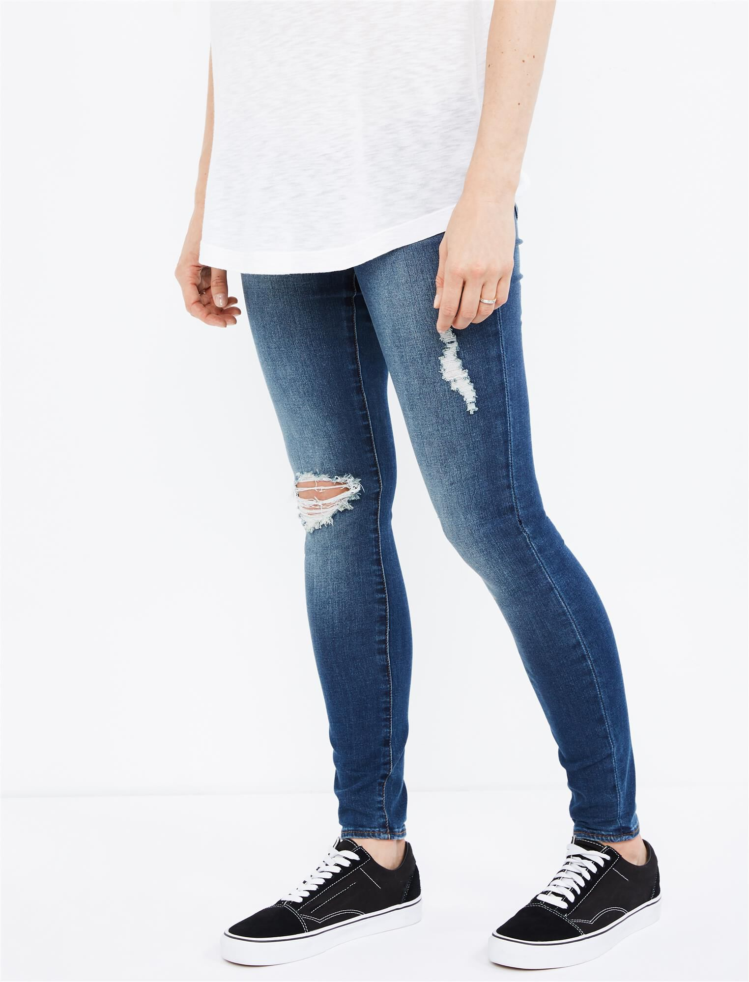 Articles Of Society Secret Fit Belly Sarah Maternity Jeans- Medium Wash