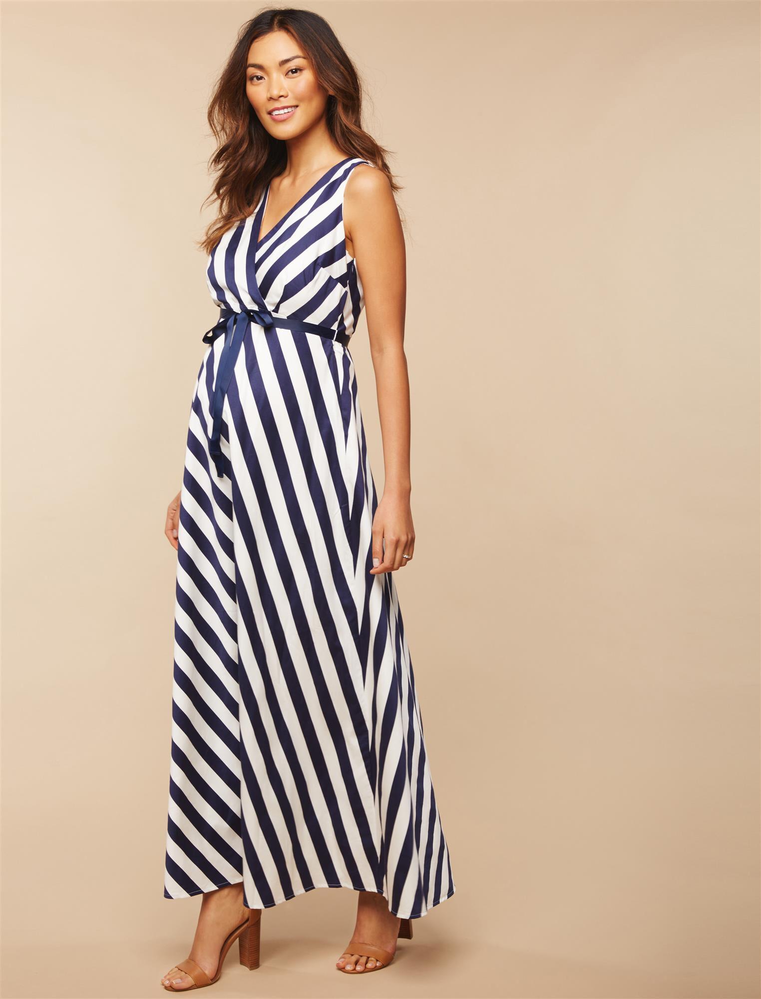 Jessica Simpson Sash Belt Maternity Dress