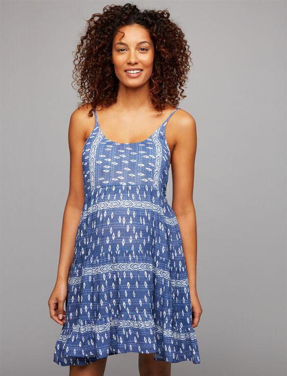 Rails Amber Maternity Tunic, Ikat Print