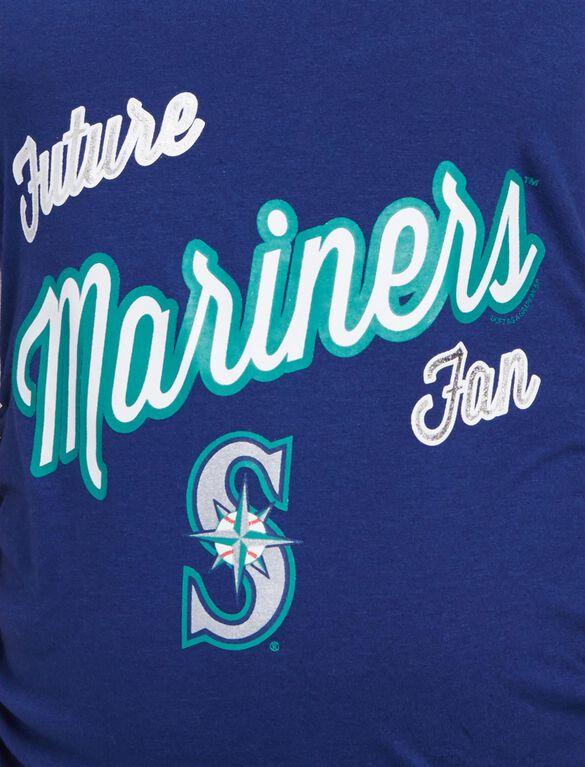 Seattle Mariners MLB Future Fan Maternity Tank, Mariners Navy