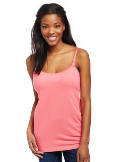 Clip Down Nursing Cami, Camellia Rose
