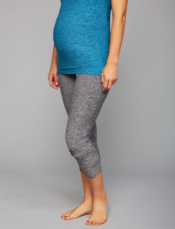Beyond The Bump Relaxed Fit Maternity Jogger Pant, Black/White