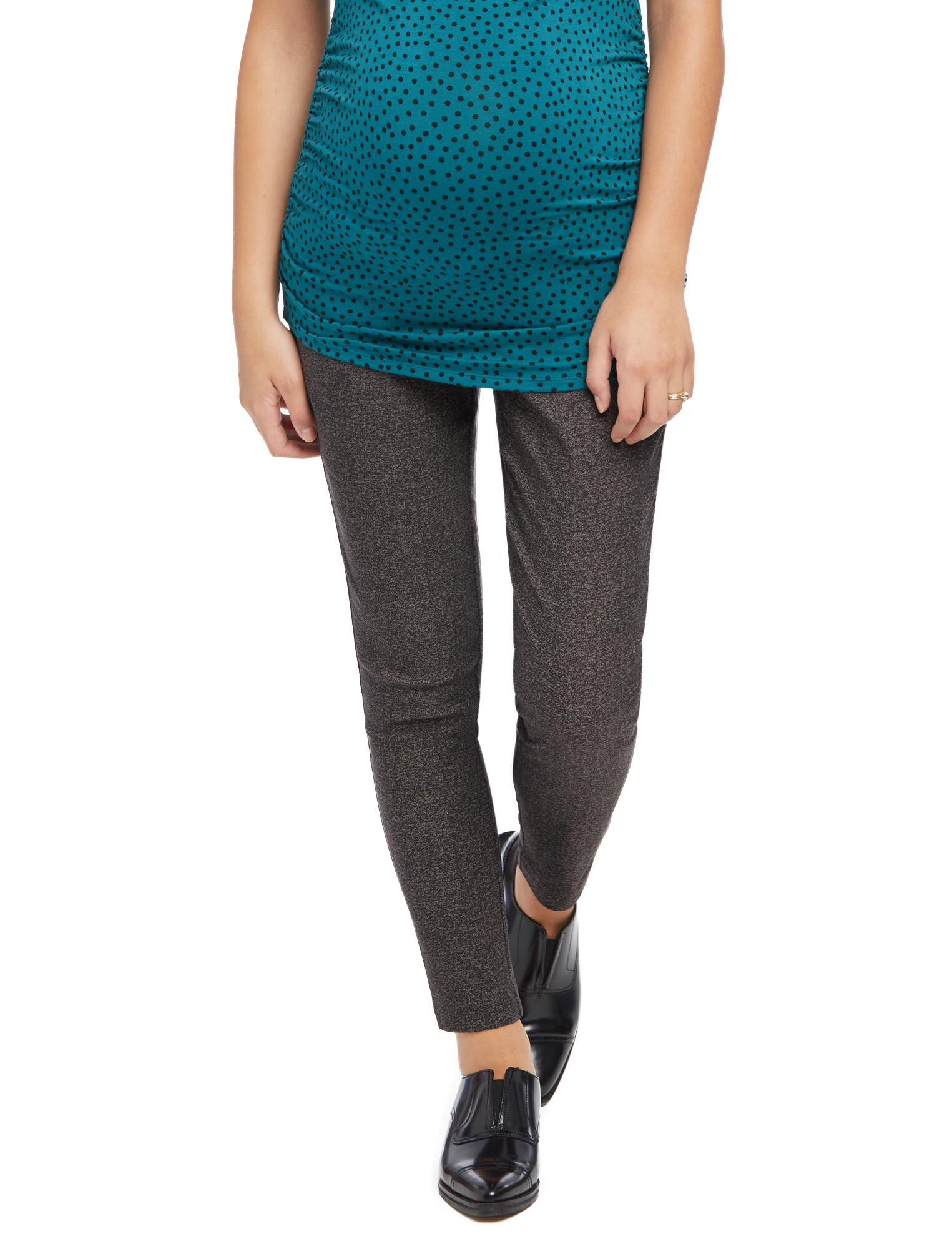Secret Fit Belly Tech Twill Tweed Maternity Pants
