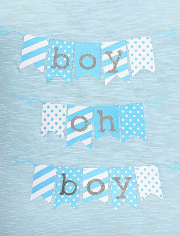 Boy Oh Boy Maternity Tee, Baby Boy