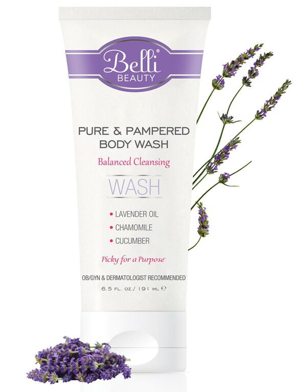 Belli Pure & Pampered Body Wash, Body Wash