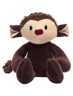 Bears For Humanity Organic Stuffed Monkey, Monkey
