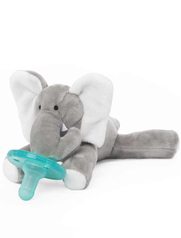 WubbaNub Elephant Infant Pacifier, Elephant