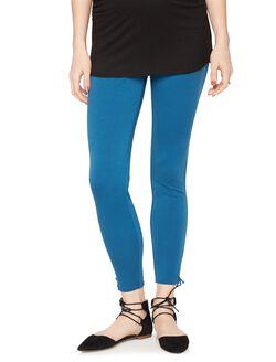 Rachel Zoe Secret Fit Belly Ponte Maternity Ankle Pants, Blue