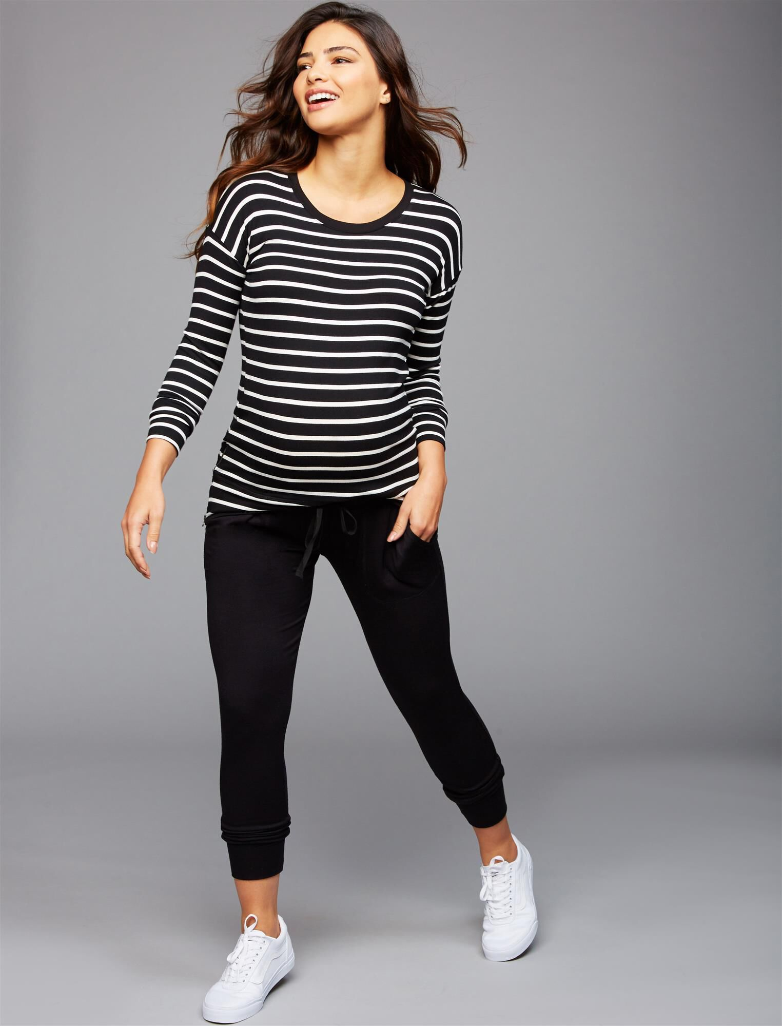 Under Belly Jogger Maternity Pants