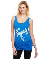 Kansas City Royals MLB Future Fan Maternity Tank, Royals Blue