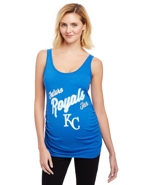 Kansas City Royals MLB Future Fan Maternity Tank, Royals Blue