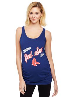 Boston Red Sox MLB Future Fan Maternity Tank, Red Sox Red