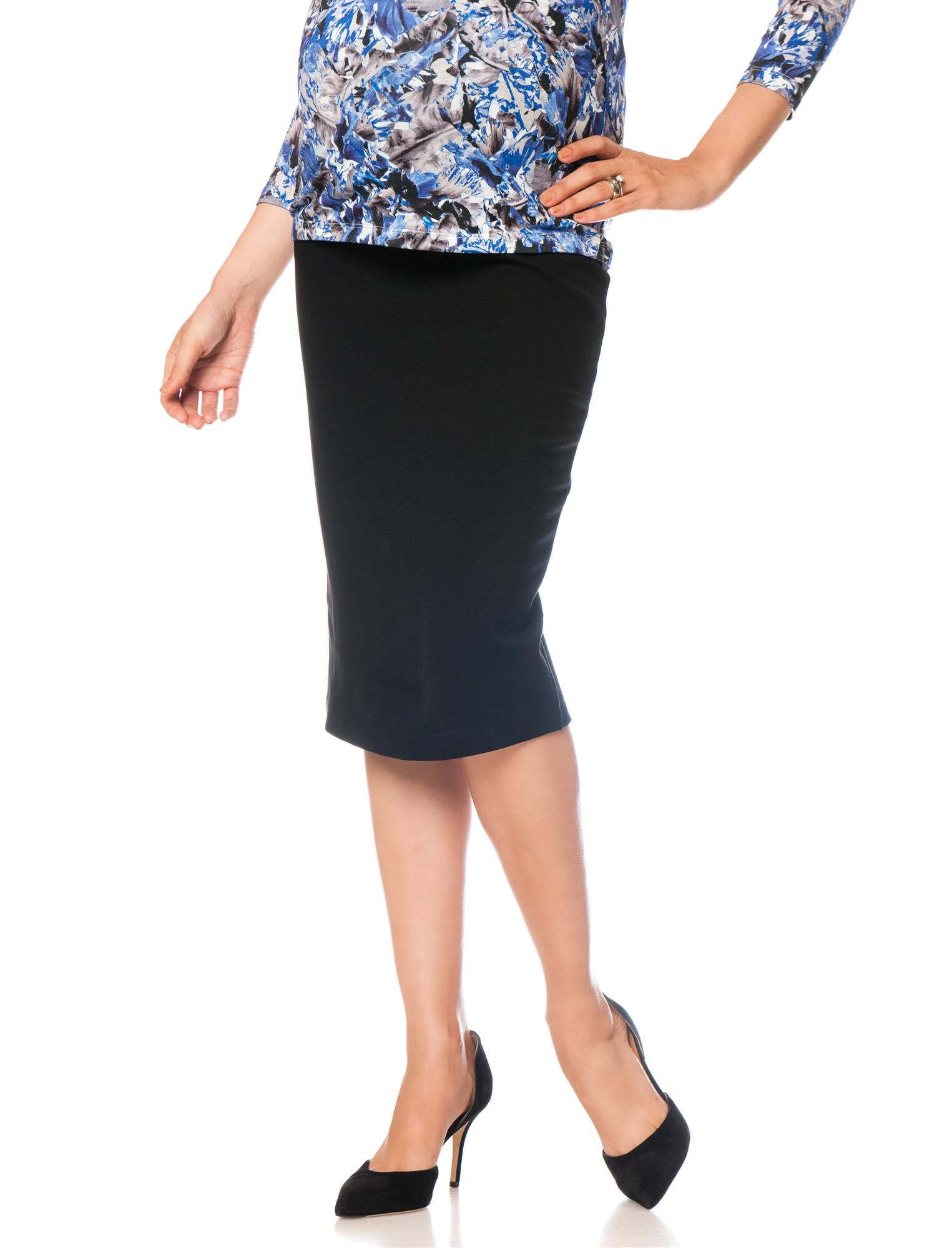 Isabella Oliver Pull On Maternity Pencil Skirt