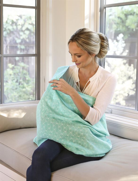 Bebe au Lait Muslin Infinity Breastfeeding Scarf- Bijou, Bijou