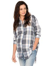 Maternity Shirt, Natural