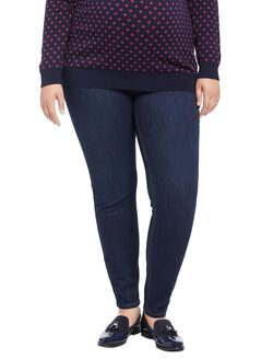 Jessica Simpson Plus Size Secret Fit Belly Jegging Maternity Jeans, Dark Wash